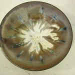 Pedestal Dish (Black ZC GG)