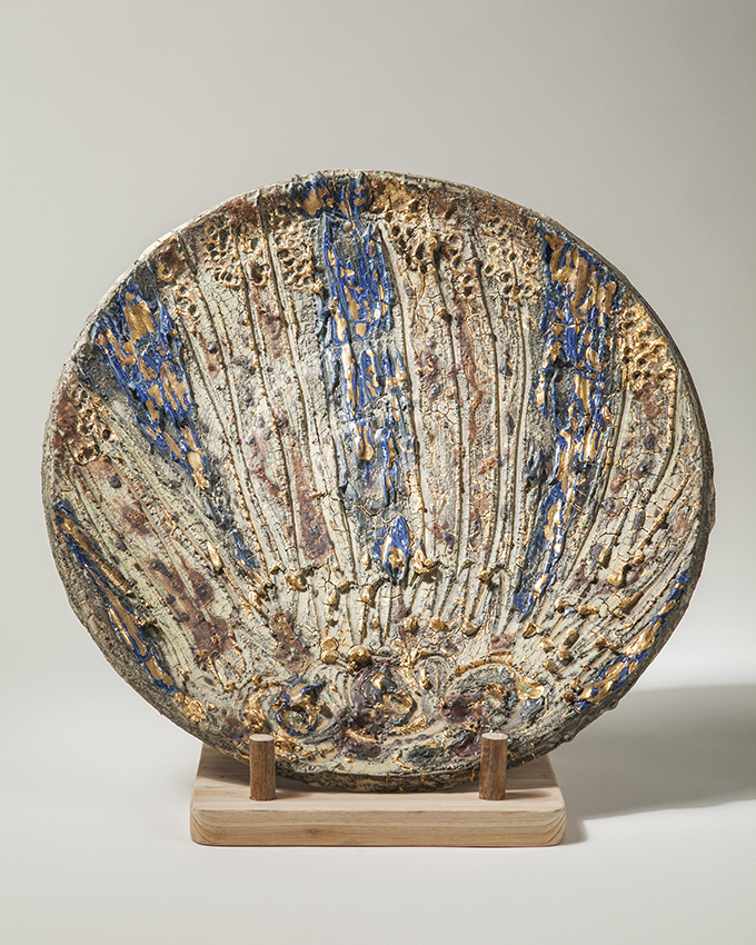 Golded Dish, Paul Tebble
