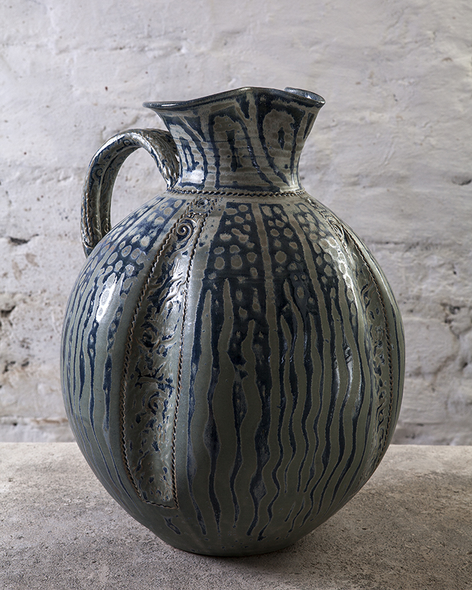 Large Stoneware Jug, Paul Tebble