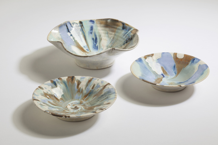 Crystal Dishes, Paul Tebble (20-25cm)